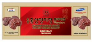 Geumsam Korean Lingzhi With Red Ginseng Extract - 250g