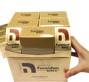 Fucoidan powered with AHCC's Drink (Liquid) Type - 50 Packets