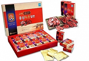 Korean Red Ginseng Slice with Deer Antler (200g)