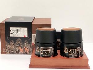 Red Ginseng & Deer Antler Velvet Premium Extract (2 x 180g Bottles)