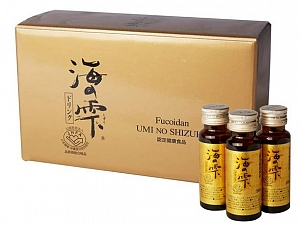 Fucoidan Umi No Shizuku - Drink Supplement :  50 ml X 10 bottles/ box