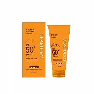 DEARDERM DAILY MOIST SUNSCREEN - 88 ML / 3 FL OZ