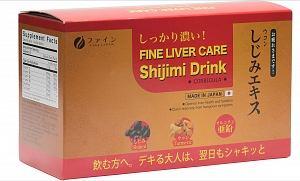 Shijimi Drink -Fine Liver Care - Nhật Can Khang Dược - 10 bottles x 50ml