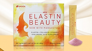 (New) Elastin Beauty / 1 mth supply (60 packets) - 180g