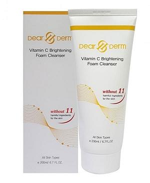 Vitamin C Brightening Foam Cleanser 6.7oz/200g