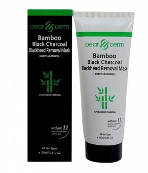 Bamboo Black Charcoal Blackhead Removal Peel Off Mask 100ml / 3.3fl.oz