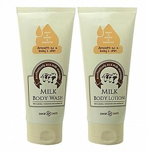 Milk Body Lotion and Body Wash 2 Pcs Set 150ml