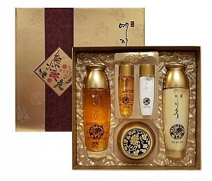 Yezihu Fermented Herbal Gold 3pcs Set (Toner + Emulsion + Cream)