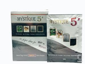 MYSTIQUE 5' Color Hair Shampoo (Cappuccino)