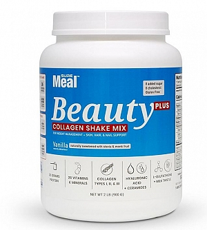 SureMeal™ Sữa Bột Beauty PLUS, Collagen & HA (15 Servings)