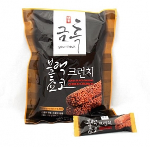 Korean Black Ginseng Choco Crunch – 170g