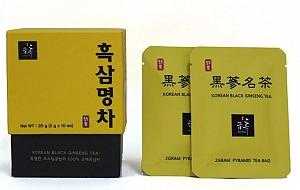 Korean Black Ginseng Tea 100% - 20g