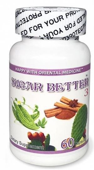 Sugar Better 3 -  60 capsules