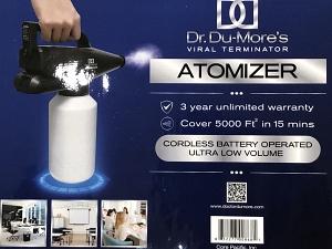 Hand-held atomizer/applicator
