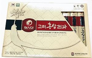 Korean Red Ginseng Honeyed Whole Root 10g x 30 (300g)