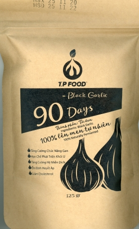 BLACK GARLIC 125G