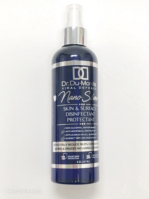 Dr. Du-More's Viral Defense Skin and Surface Dis/Pro - 8oz (237ml)
